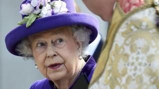 Sibuk, Ratu Elizabeth II Absen di Pembaptisan Pangeran Louis