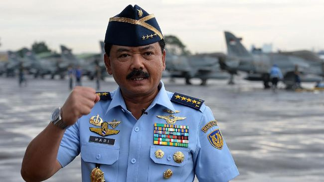 Jokowi Usulkan KSAU Hadi Tjahjanto Calon Tunggal Panglima TNI