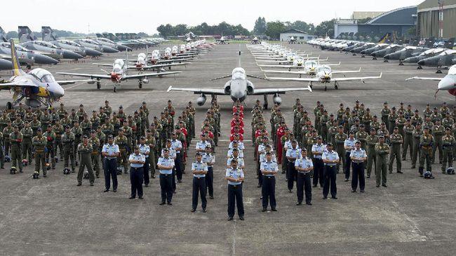 TNI AU Pastikan Perayaan HUT ke-71 Bakal Meriah