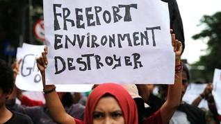 BPK: Freeport Tak Gubris Hasil Audit Kerusakan Lingkungan