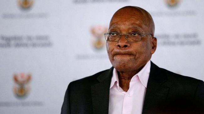Partai Penguasa Afsel Resmi Tuntut Presiden Zuma Mundur