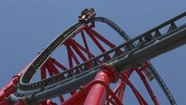 Roller Coaster Bikinan Ferrari Melesat 180 Kilometer/Jam