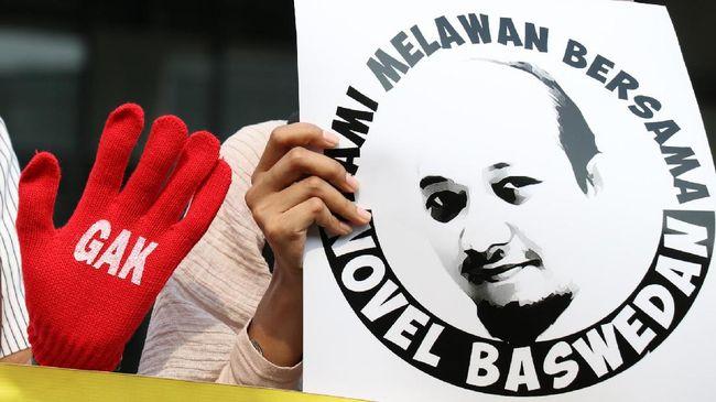 Surat Terbuka Aktivis ICW untuk Presiden soal Teror Novel