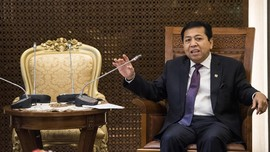 Setya Novanto Pasrah Kader Golkar Kembali Ditangkap KPK