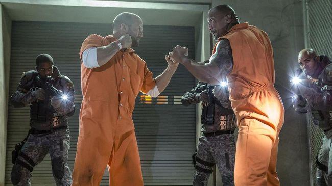 Dwayne Johnson dan Jason Statham 'Lepas' dari Fast & Furious