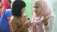 Pada kesempatan ini, detikHealth dan Sarang Cerita mendatangi PAUD Tunas Melati, Cipayung, Jakarta Timur untuk melakukan dongeng. (Foto: Suherni Sulaeman/detikHealth)