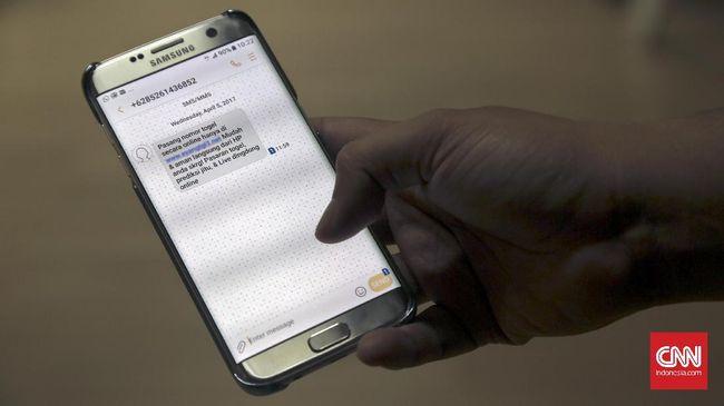Pelanggan Mulai Jengah Dibombardir SMS Spam Togel