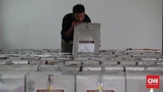 Jumlah Pemilih Sementara Pilkada 2018 Tercatat 152 Juta Jiwa