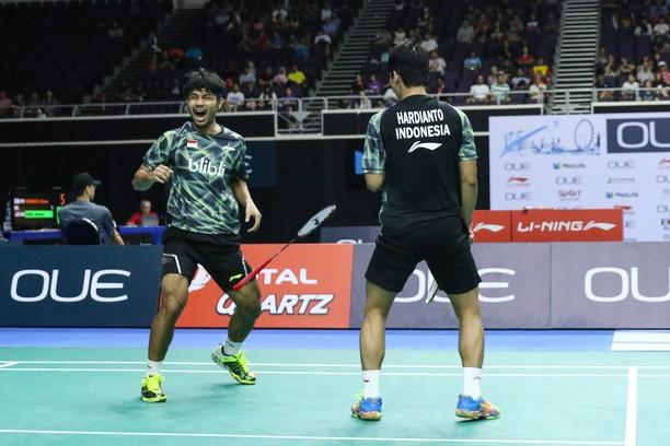Berry/Hardianto ke Semifinal Singapura Terbuka