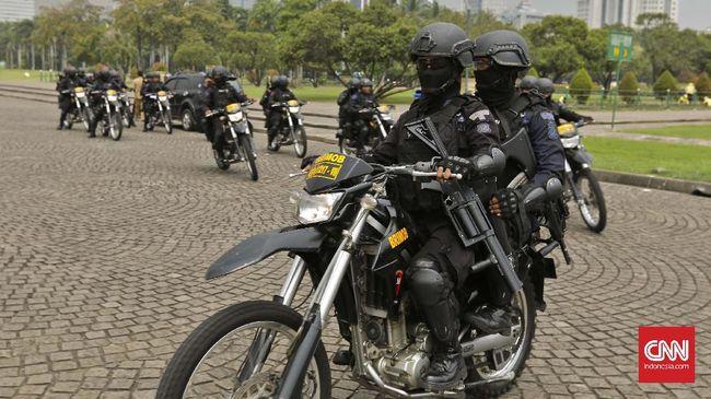 Patroli Polisi di Kedubes AS Ditambah Usai Polemik Yerusalem