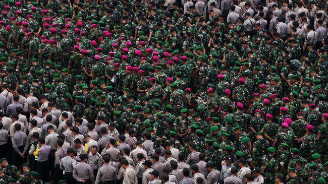 TNI-Polri Kerahkan 167 Ribu Aparat Selama Operasi Lilin 2018