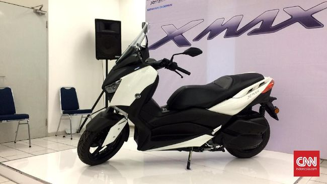 Yamaha Persiapkan XMAX dengan Mesin Berkubikasi 125 cc