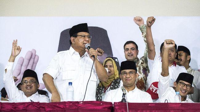 Anies-Sandi dan Elektabilitas Prabowo