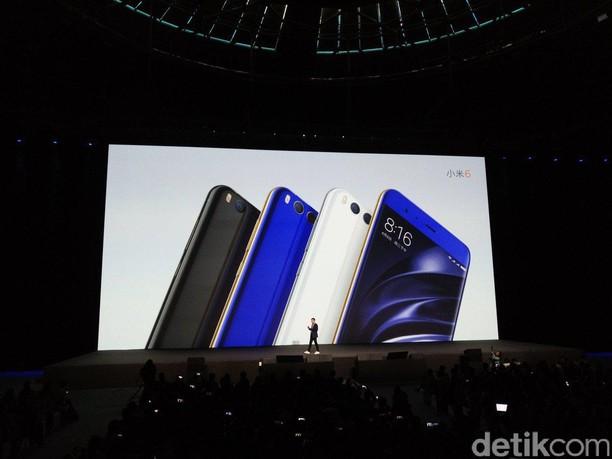 Menggenggam Xiaomi Mi 6