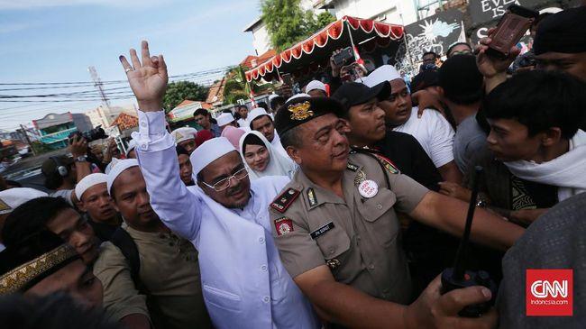Alumni 212 Lawan Polisi Jika Rizieq Shihab Ditangkap