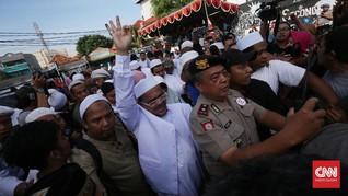 Prabowo Temui Jokowi, PA 212 Tetap Minta Rizieq Shihab Pulang
