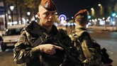 <p>Perancis sendiri sudah dalam status darurat sejak 2015 lalu, setelah serangkaian serangan teror yang menewaskan setidaknya 230 orang dalam dua tahun belakangan. (AFP Photo/Thomas Samson)</p>