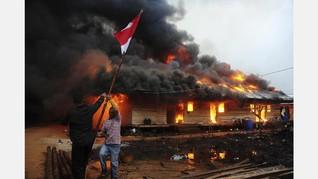 'Selamatkan Merah Putih' Jadi Foto Jurnalistik Terbaik 2017