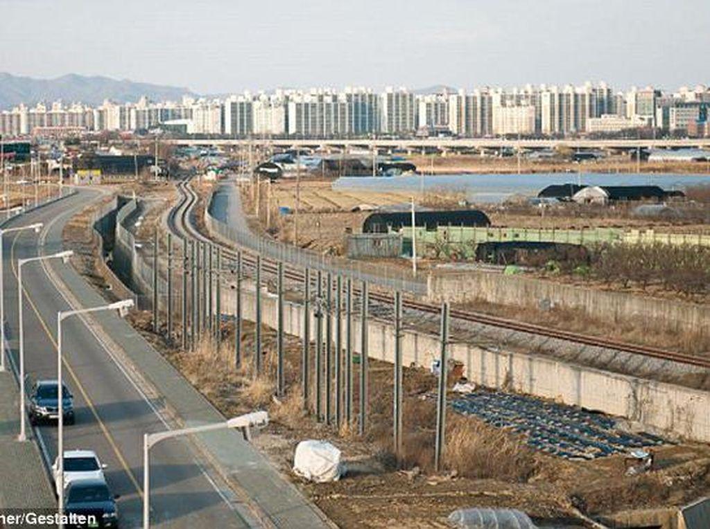Suasana daerah pinggiran Seoul. Foto: Hufpost