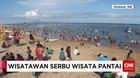 Pesona Pantai Mertasari Menarik Perhatian Ribuan Wisatawan
