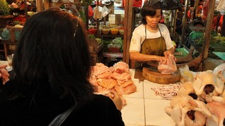 Kenaikan Harga, Pedagang Ayam di Jawa Barat Ancam Mogok
