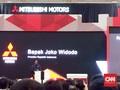 Jokowi Resmikan Pabrik Mitsubishi di Cikarang