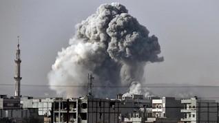 Serangan Koalisi AS Dilaporkan Tewaskan 23 Warga Sipil Suriah