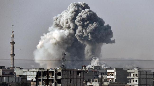 Pemerintah Suriah Protes ke PBB atas Serangan Udara AS