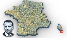 Persebaran Suara dalam Pemilu Presiden Perancis