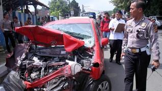 Dua Hari Operasi Lilin, 28 Orang Tewas Kecelakaan Lalu Lintas
