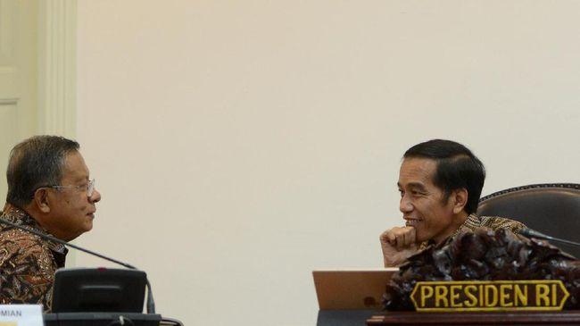 Jokowi Panggil Darmin dan Sri Mulyani Bahas Perang Dagang