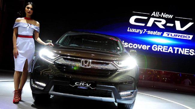 Honda Ragukan Peminat CR-V Beralih ke Merek China