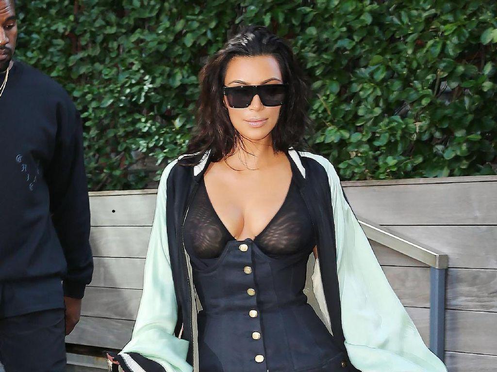 Kanye West Larang Kim Kardashian Pakai Sunglasses Besar