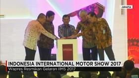 Wapres Buka IIMS 2017