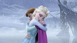Jejak 'Elsa' dan 'Anna' Frozen 2 di Hollywood Walk of Fame