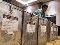 KPU Hitung Jumlah Kotak Suara Pemilu 2019