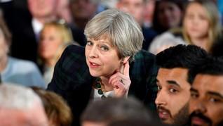 Theresa May Lolos dari Mosi Tidak Percaya Partai Konservatif