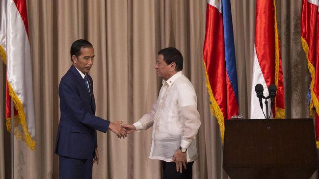 Jokowi Minta Duterte Selamatkan Hidup-hidup WNI yang Ditawan
