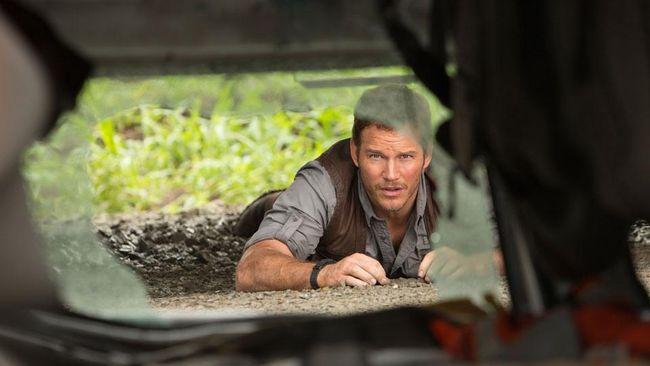 Reuni Chris Pratt dan Raptor Kesayangan di 'Jurassic World 2'