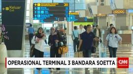 1 Mei Penerbangan Internasional Perdana di Terminal 3 Soetta