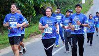 Olahraga aerobik seperti berlari dapat meningkatkan irama jantung. Ketika itu terjadi, tubuh melepas hormon endorfin yang membuat orang merasa senang. (Foto: Pool)