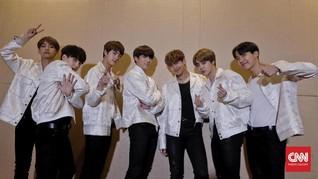 Lima Kesibukan BTS di Amerika Serikat