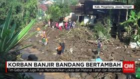 Tujuh Korban Banjir Bandang Magelang Masih Belum Ditemukan