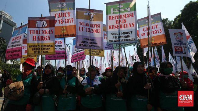 <i>May Day</i>, Buruh Jabar Bergerak Kepung Gedung Sate