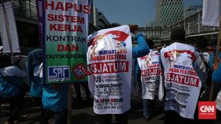 Ribuan Buruh Akan Demo di Istana Besok