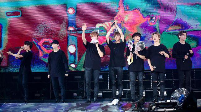 'ARMY' Minta BTS Cukup Istirahat Usai Penampilan MGA 2018