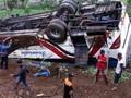 Bus Kitrans yang Kecelakaan di Ciloto Ternyata 'Bodong'