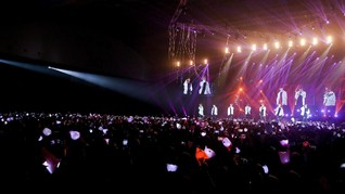 Fan BTS dan Wanna One Rusuh Saat IU Pidato Golden Disc Awards