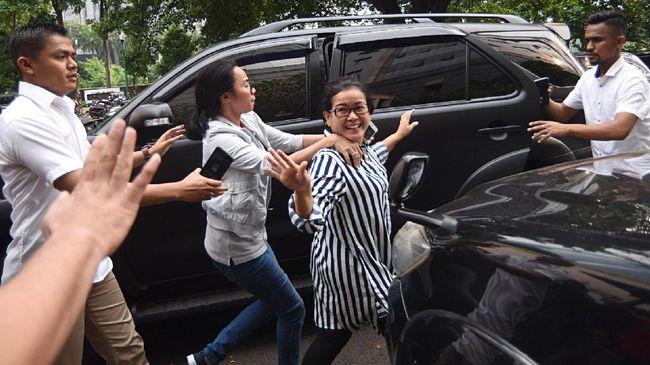 KPK Tahan Miryam S Haryani di Rutan Jakarta Timur
