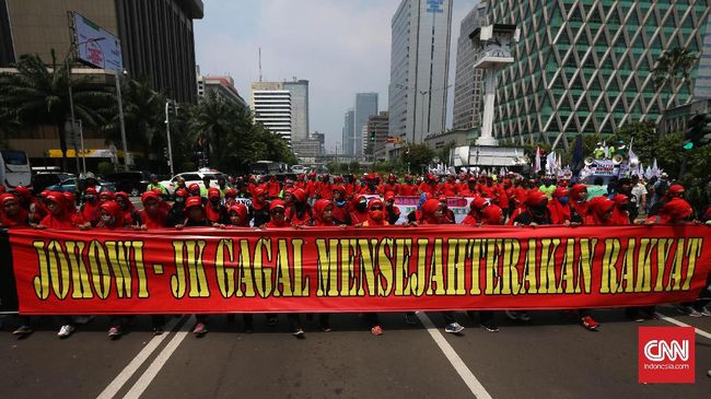 <i>May Day</i>, Buruh Bergerak Demo Jokowi soal Perpres TKA